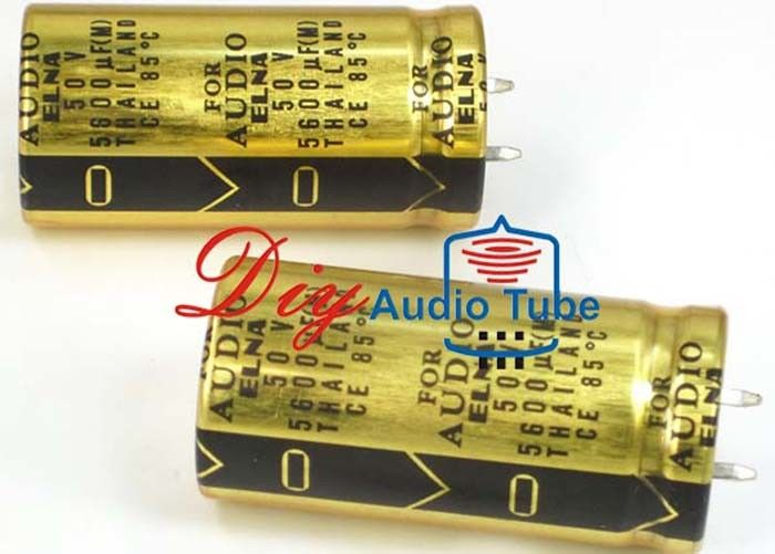 5600UF 50V Audio Grade Electrolytic Capacitors High Fidelity Aluminum Family