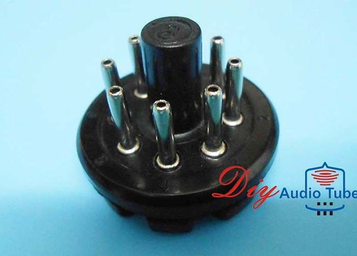 8 Pin Vacuum Tube Sockets Environmental Friendly HIFI Amplifier For KT88 KT66