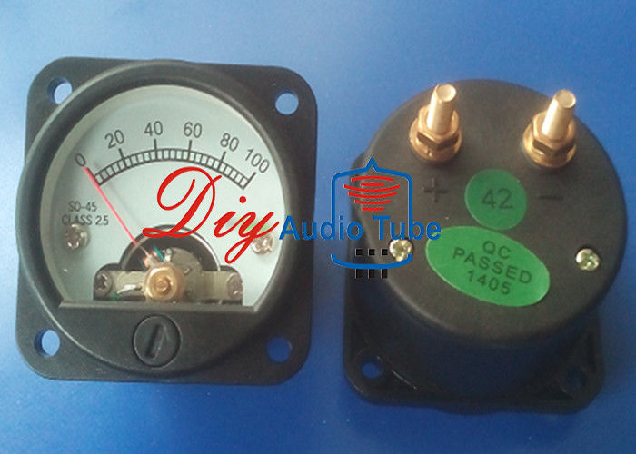 45mm DC 100mA Voltmeter Panel Meter Rhos Approved For Vintage 2A3 300B Amps