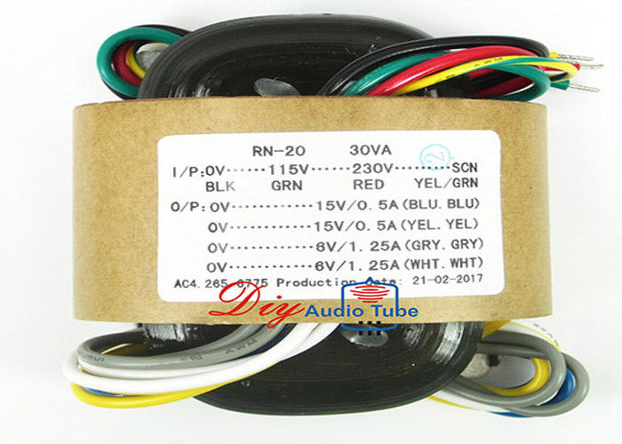 Customized Tube AMP Transformer Toroidal Power 115V 230V Input Voltage