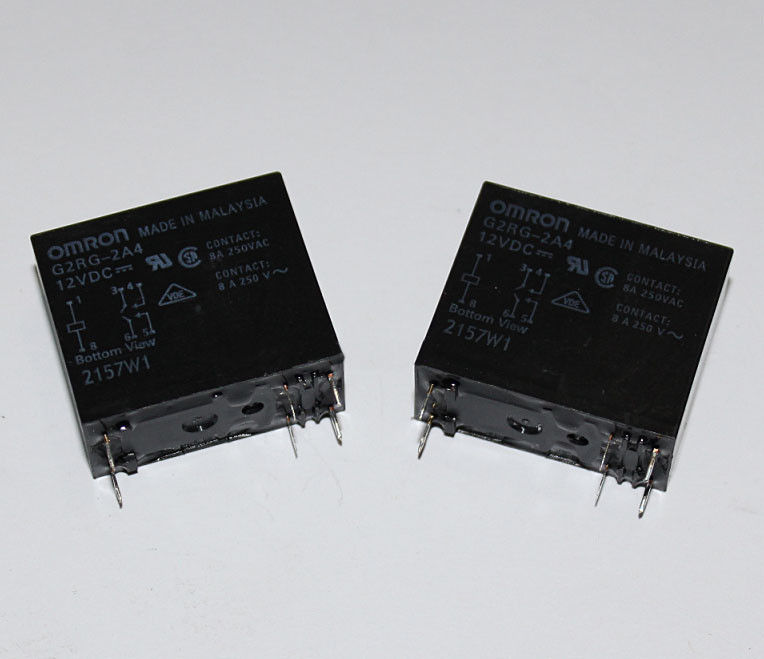 Omron power relay G2RG-2A4-5V 12V 24VDC - 8A (6 Pin)